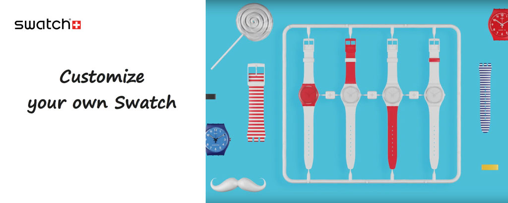swatch watches to customize - customisation of swatch watch - swatch customized