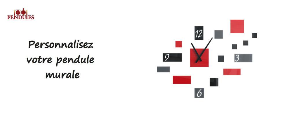 personnalisation de pendule murales. Pendule et horloges à personnaliser