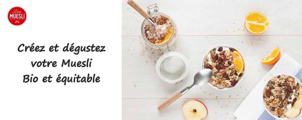 muesli personnalié dear muesli, personnalisation de muesli cereales