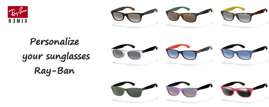customise your ray ban sunglasses - personalization of sunglasses ray ban