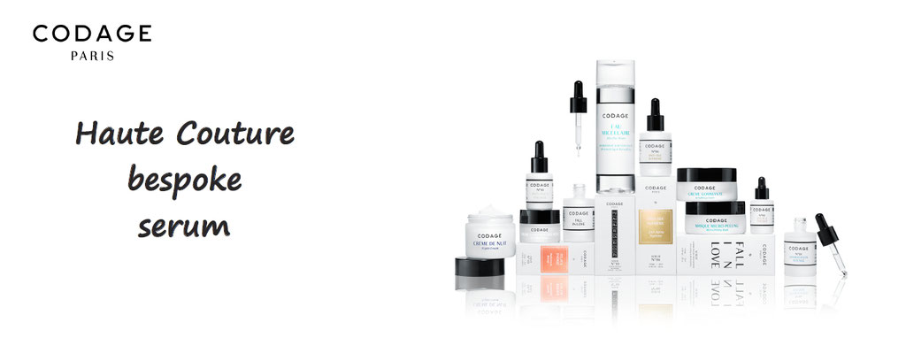 Codage paris - each skin is unique and needs a customized treatment serum - comstics customization - skin care - custom made skincare - decode your skin needs