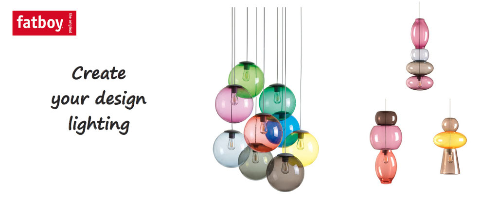Fatboy, customize your design lightings and lamps. Light customization and personalization