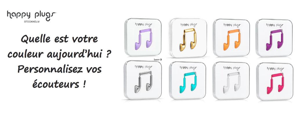 ecouteurs personnalisés, personnalisation ecouteurs et audio, happyplugs
