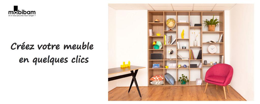 avec mobibam, personnalisez les dimensions de votre meuble personnalisation meuble, bibliothèque, comode, meuble à chaussures