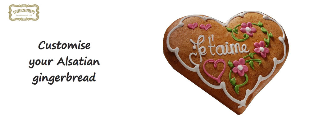 Customise your alsatian gingerbread - customization of gingerbread - gift