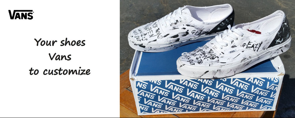 your shoes vans to customize - vans shoes customisation