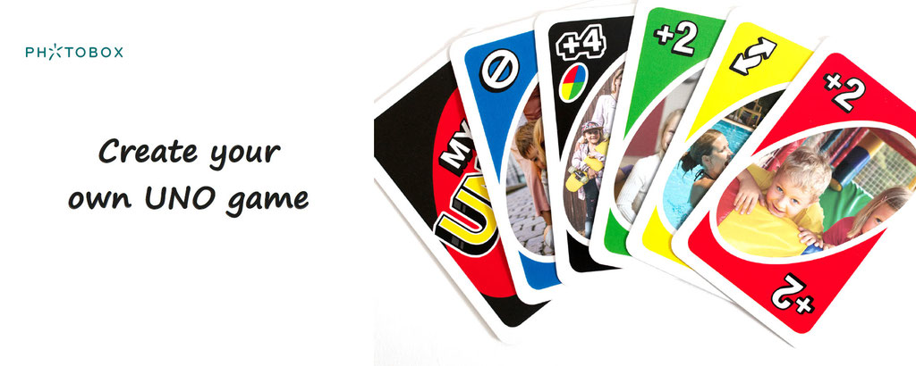 Custom your own Uno cards.
