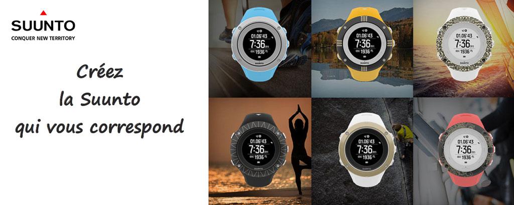 Personnalisation de montre Suunto : vous aurez à votre poignet votre montre de sport