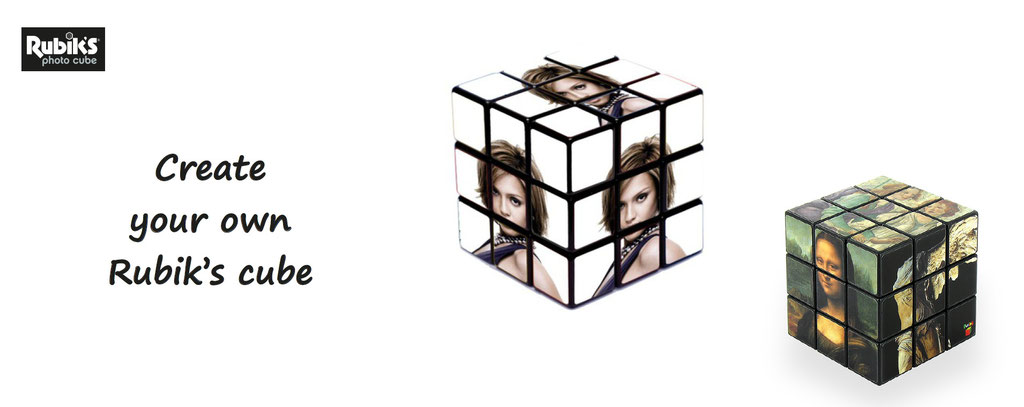 rubik's cube to customize - personalize your own rubiks cube, original and unique gift