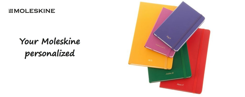 customize your moleskine - customisation of moleskine document