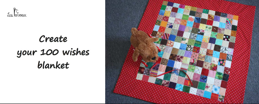 personalize and customize your 100 wishes blanket