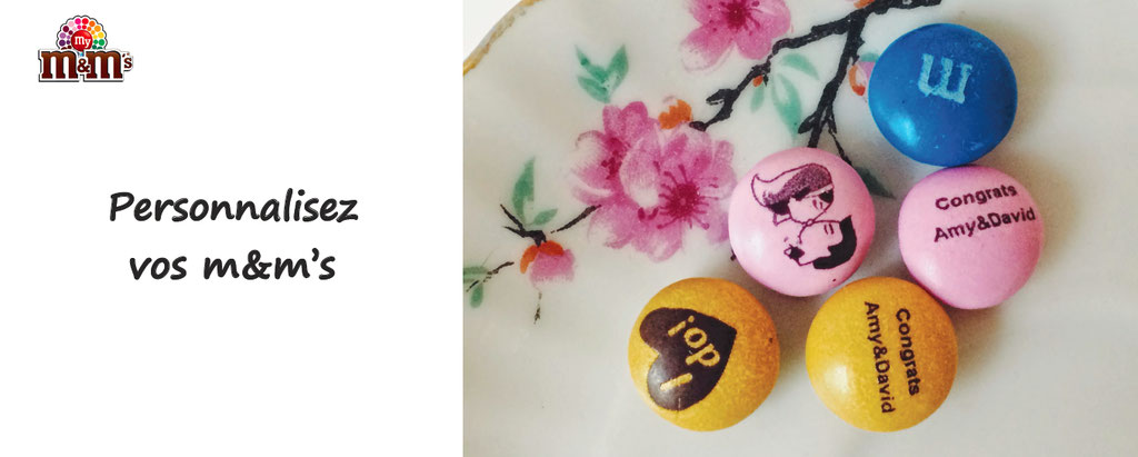 personnalisation de m&m's, dragées chocolat personnalisable -mymms personnalisés
