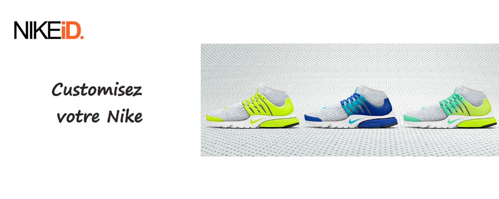 Personnalisation baskets Nike : des milliers de configurations pour marcher avec vos baskets Nike