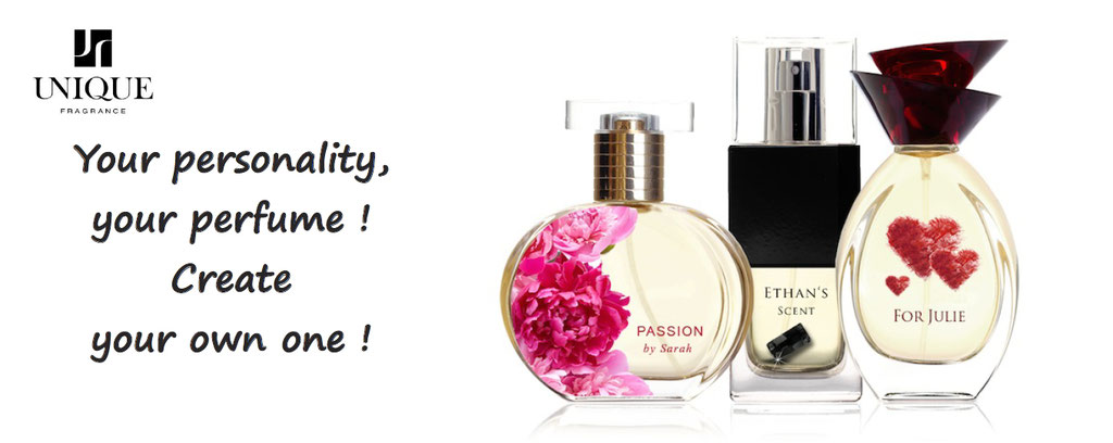 perfume personalization - create your fragrance - perfume customised - fragrance unique