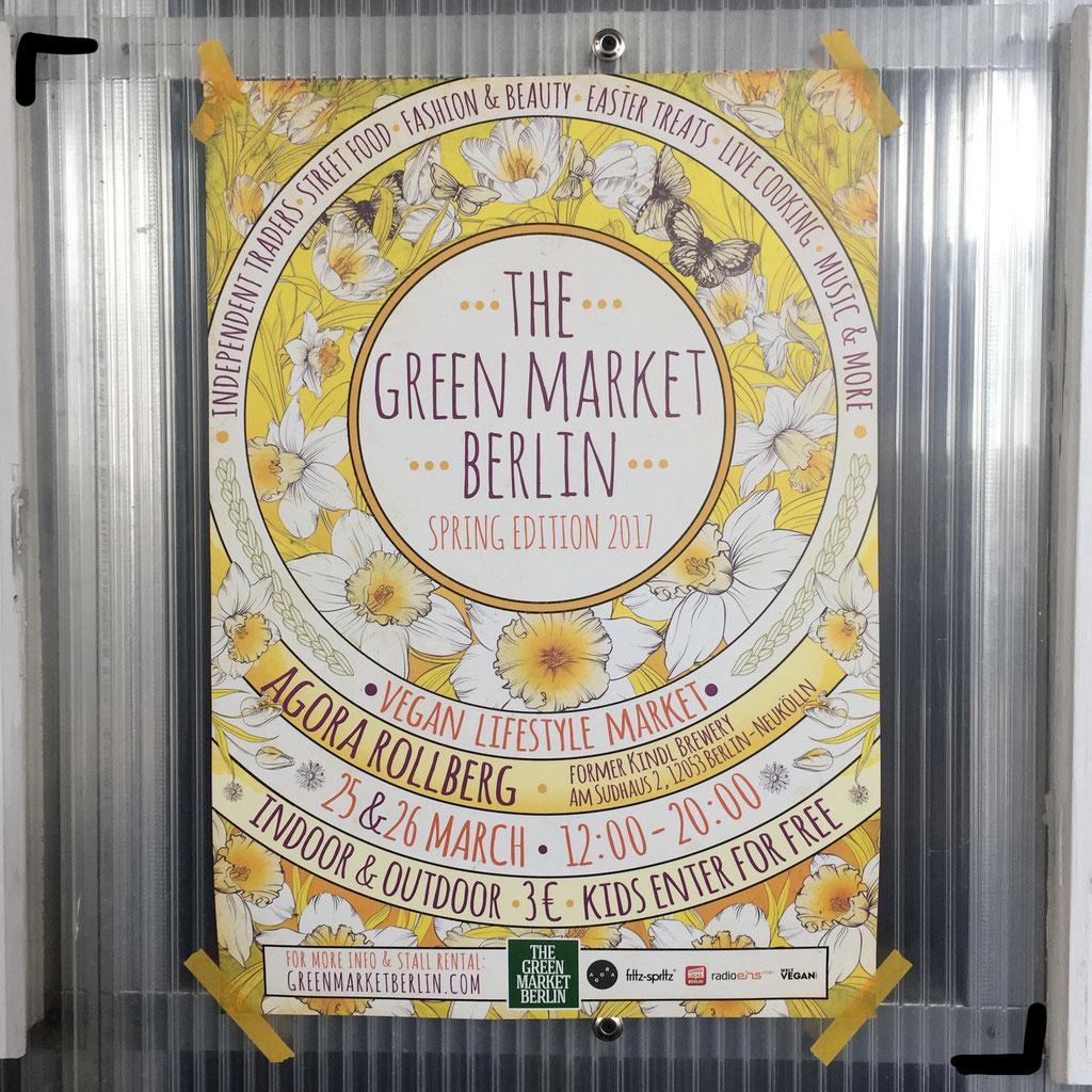 Berlin Stuff auf den veganen Green Market