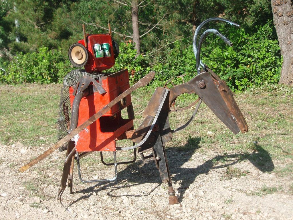 Robot bouc 2ème prix