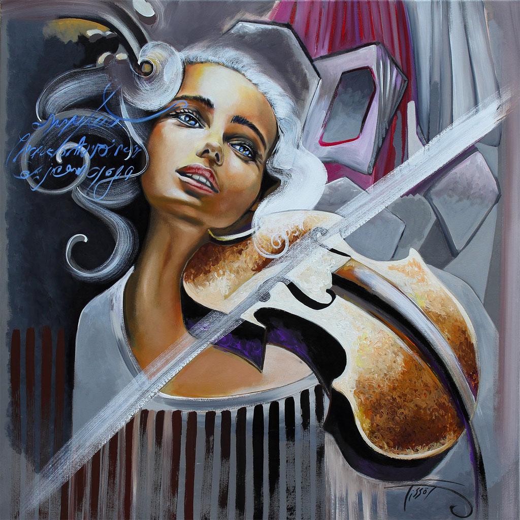 """Tissot """"la violoniste"""""""