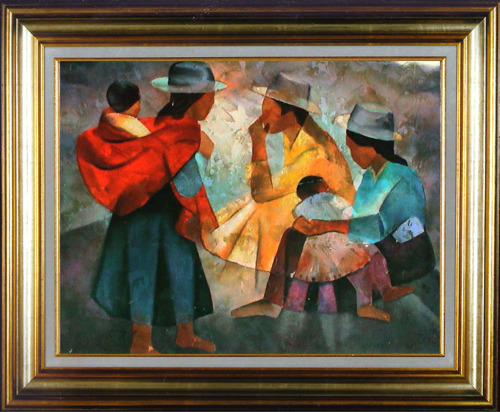 Toffoli, 3 femmes et enfants