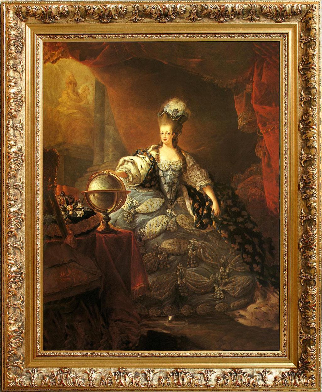 d'Agoty, Marie Antoinette