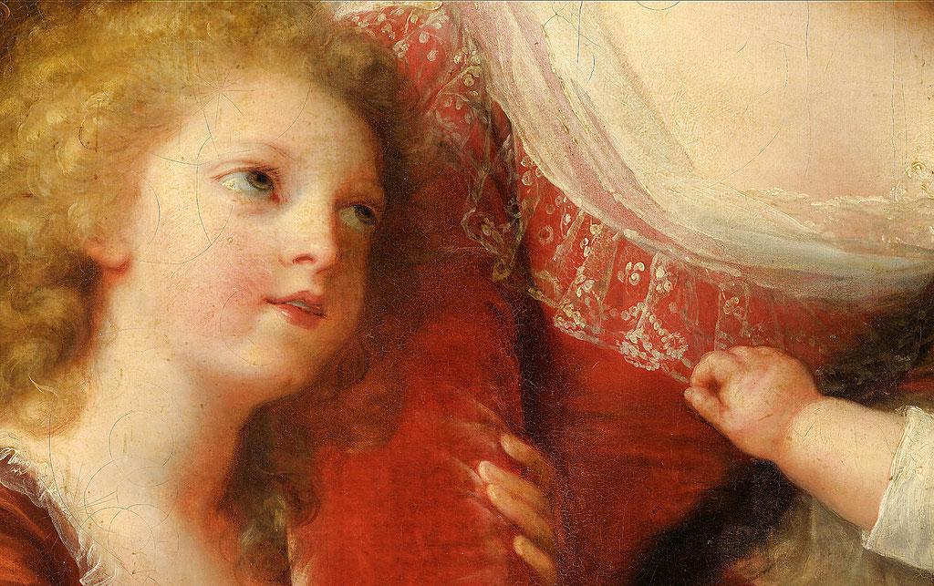 Vigée Lebrun, Marie Antoinette et ses enfants - extrait 1