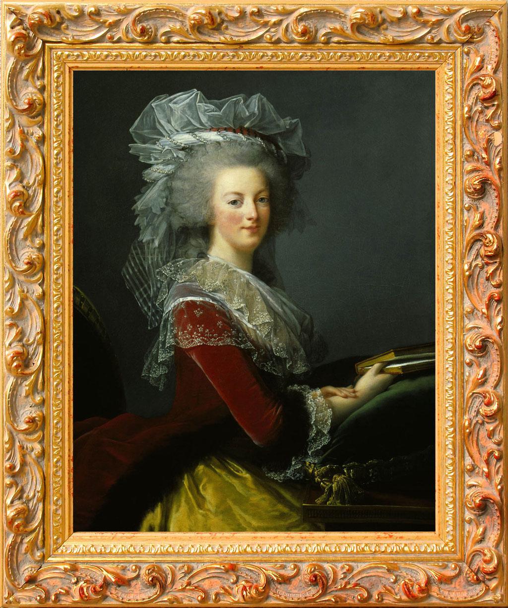 Vigée Le brun, Marie Antoinette