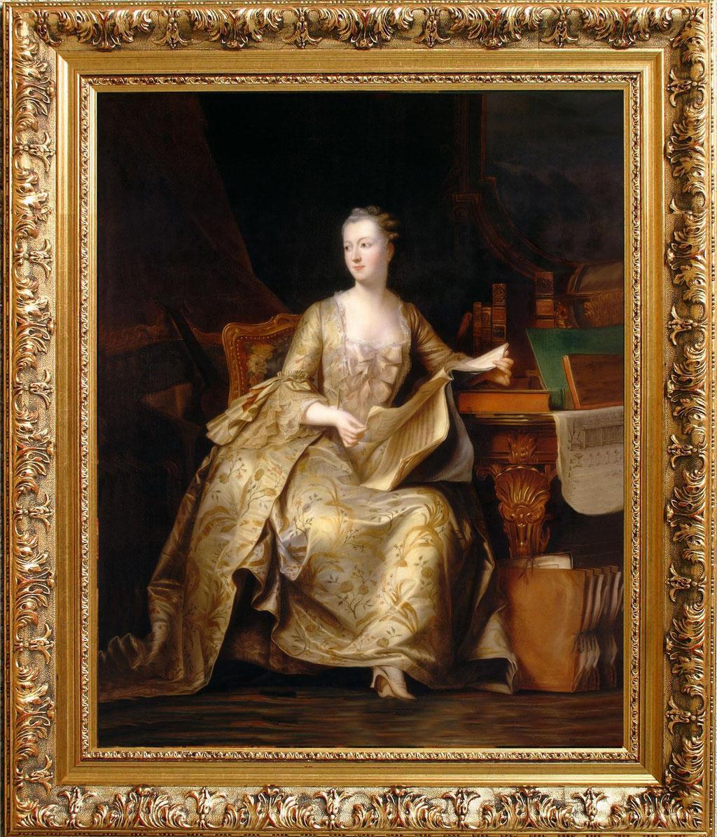 Steuben, Jeanne Antoinette Poisson, marquise de Pompadour (1722-1764)