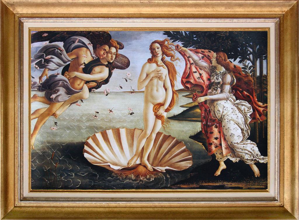 Botticelli, la maissance de Vénus