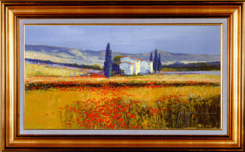 Horswell, coquelicots