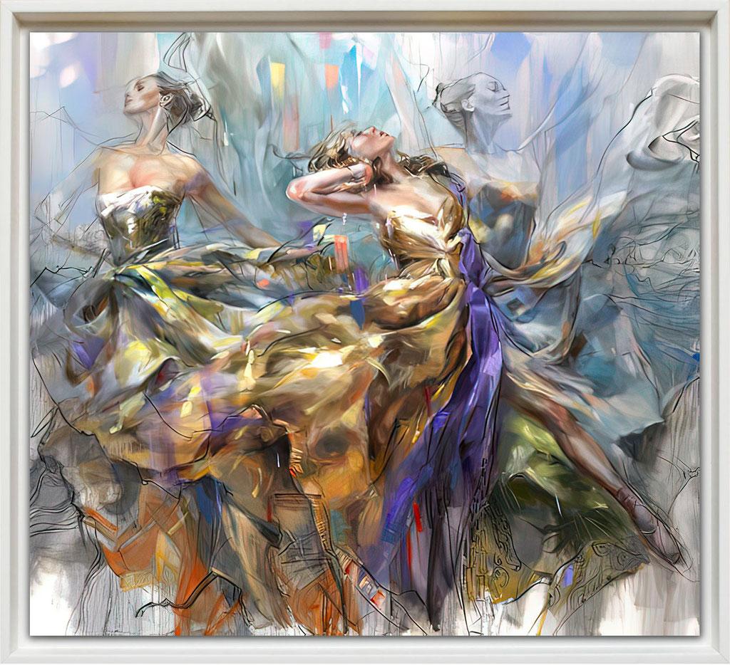 Anna Razumovskaya, loving the spin