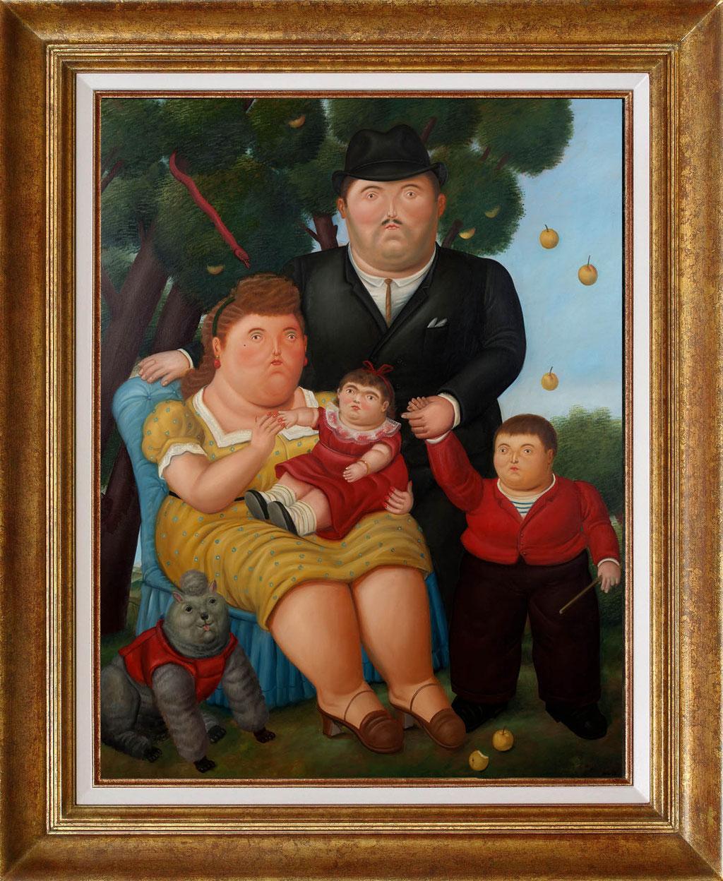 Botero, une famille