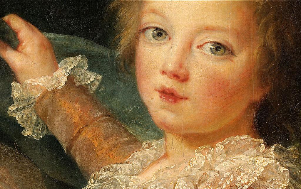 Vigée Lebrun, Marie Antoinette et ses enfants - extrait
