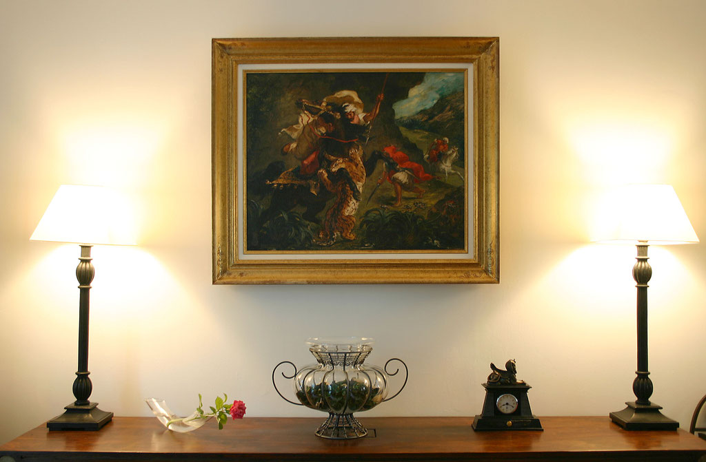 Delacroix, la chasse au tigre