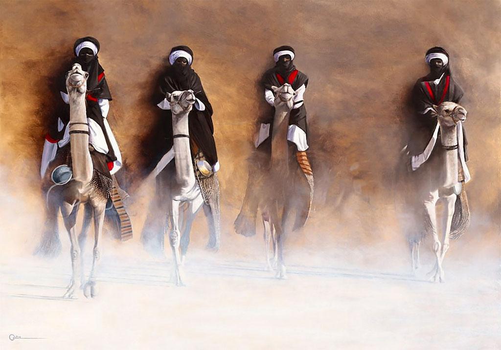 Cazal, les cavalier de l'aube