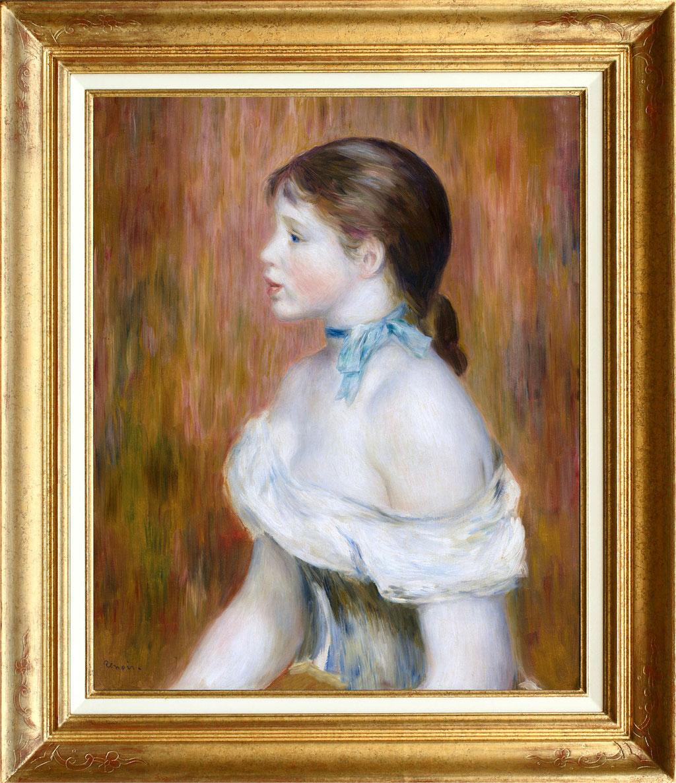 """Renoir """"la fille au turban bleu"""