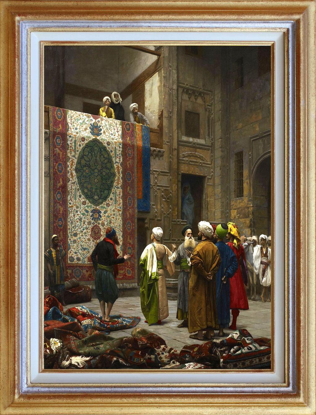 Jerome, les marchands de tapis