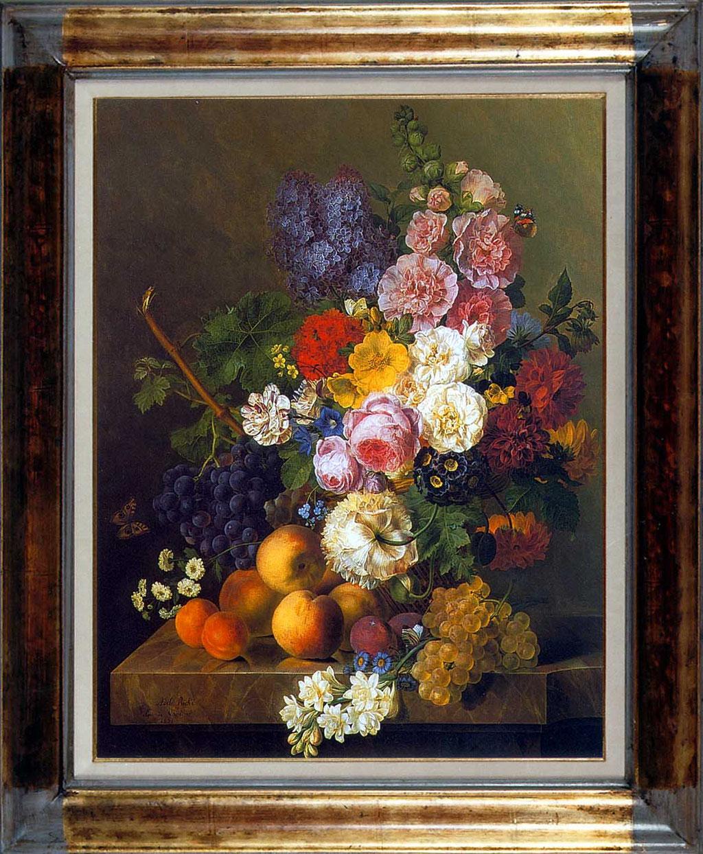 Riche, nature morte aux fleurs