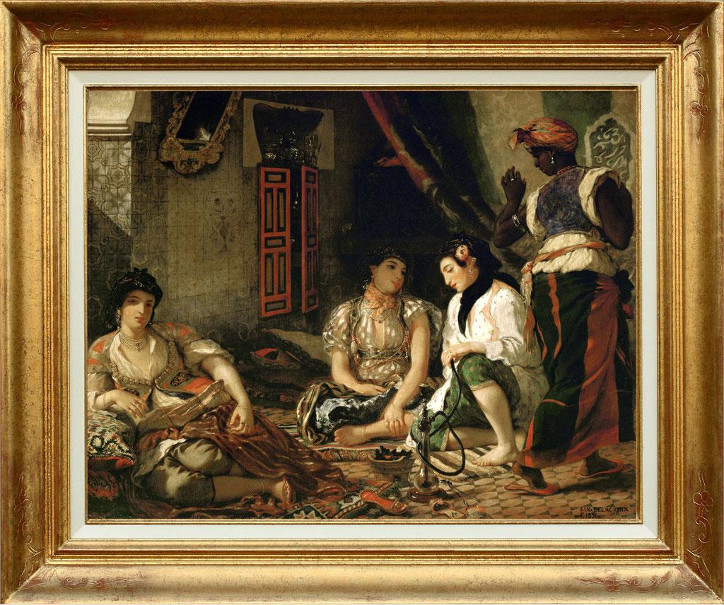 Delacrooix, femmes d'Alger
