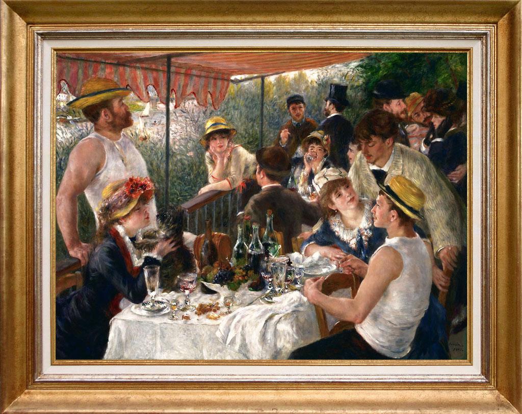 Renoir, déjeuner des canotiers