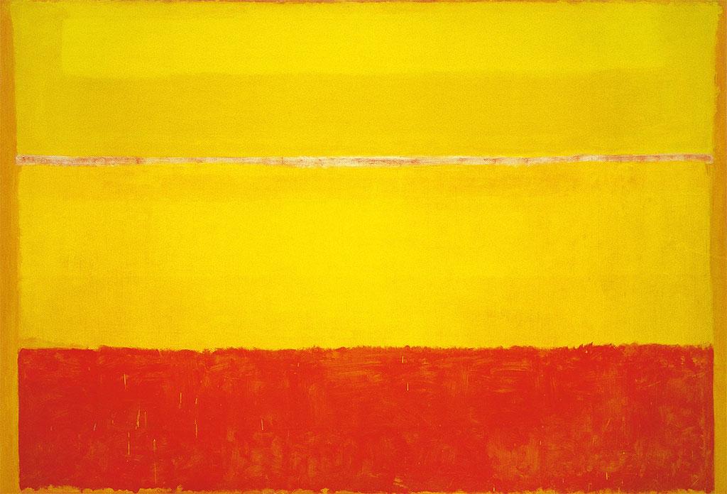 Rothko, sans titre 1952