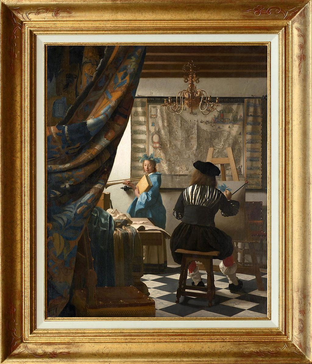 Vermeer, le peintre et son modèle
