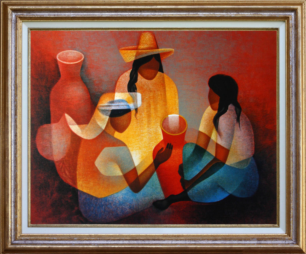 Toffoli, 3 femmes avec jarres
