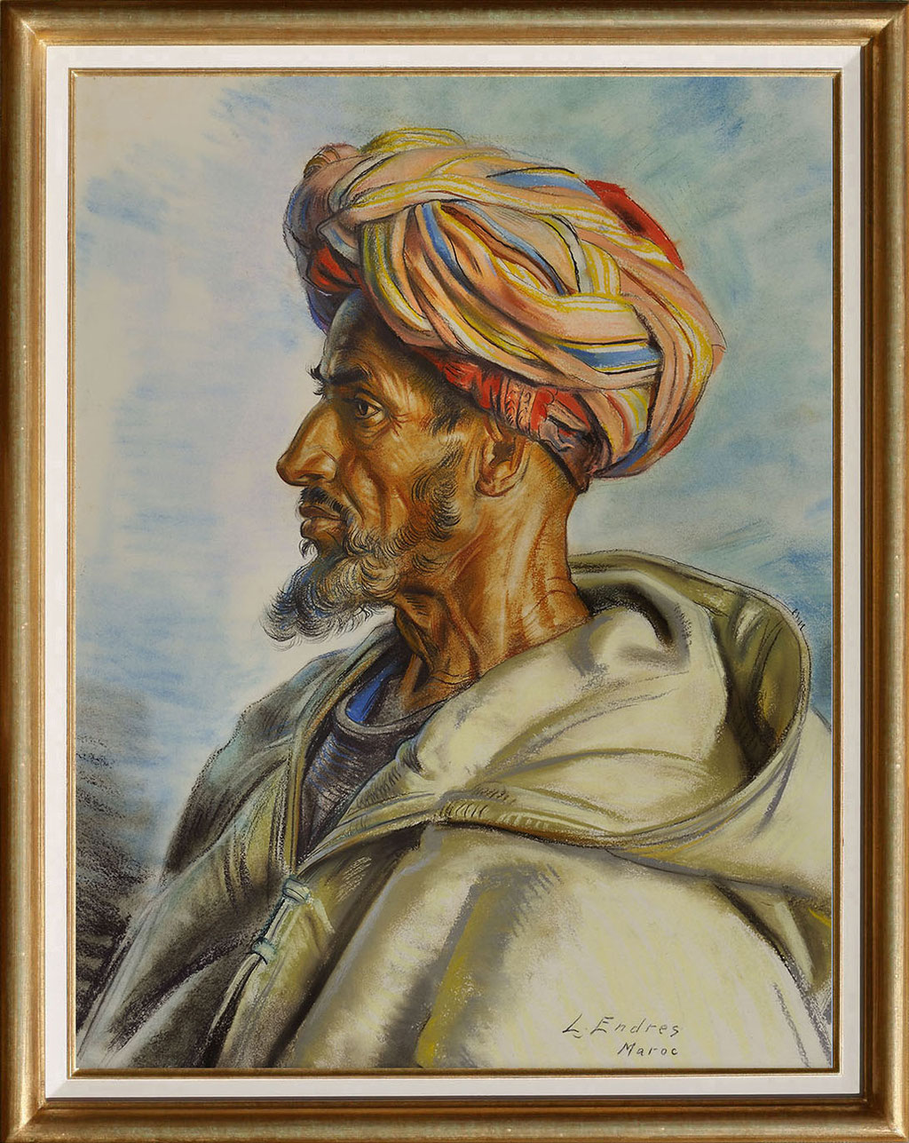 Endres, le marocain au turban