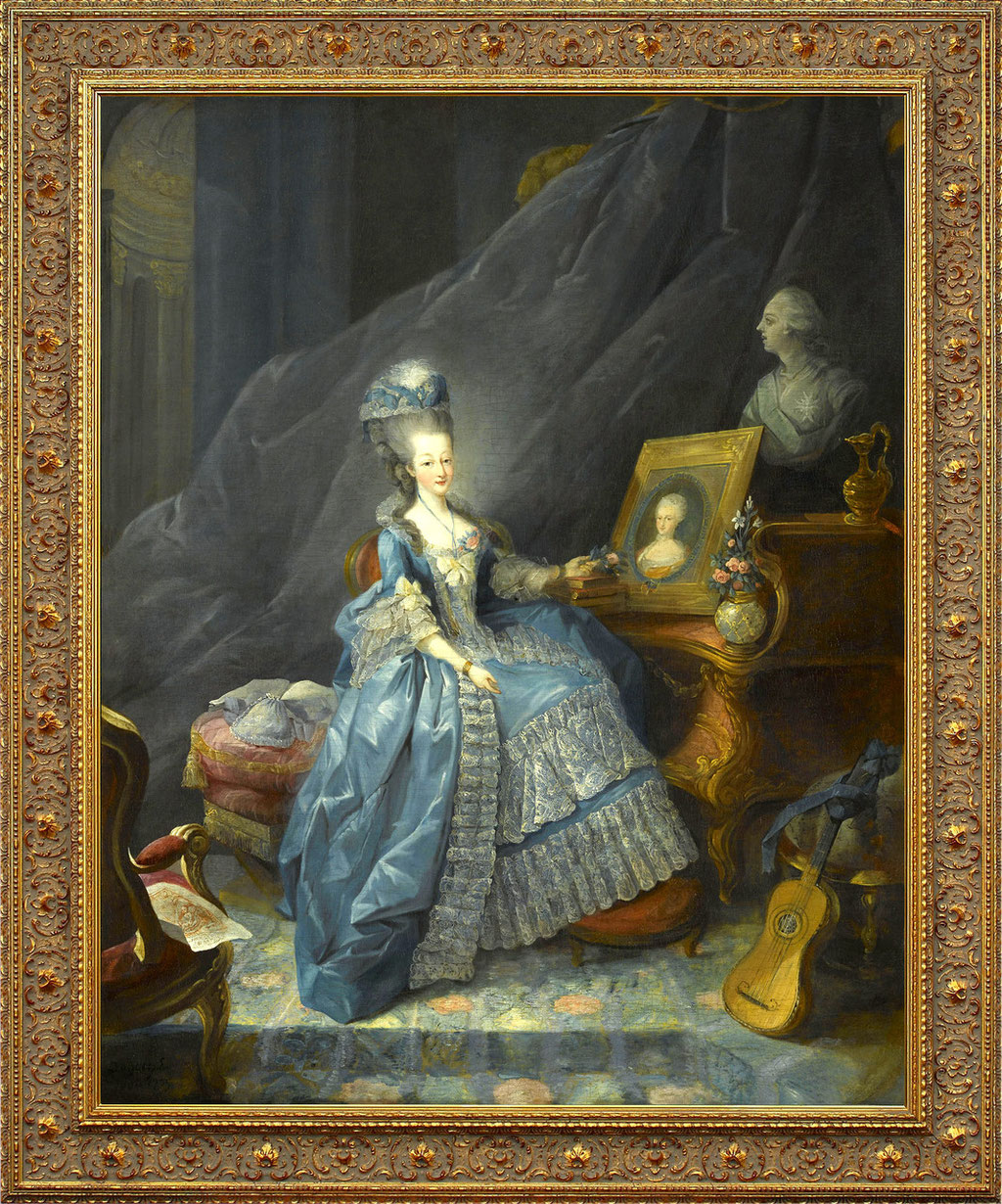 Dagoty, Marie Therese de Savoie