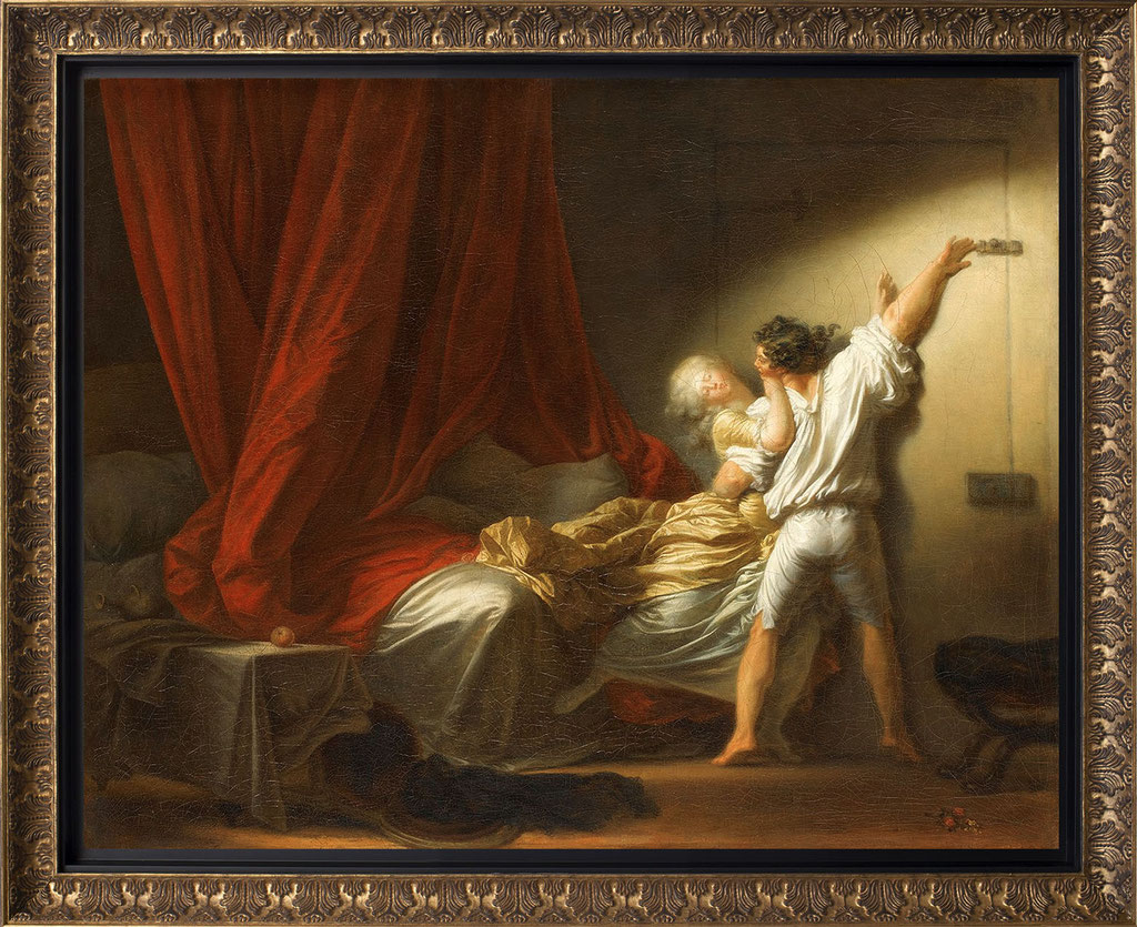 Fragonard, le verrou