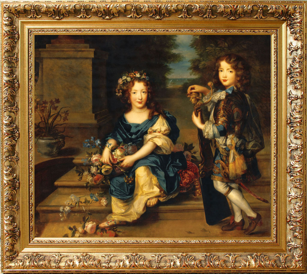Rioult, Anne-Marie de Bourbon et son frère Louis de Bourbon