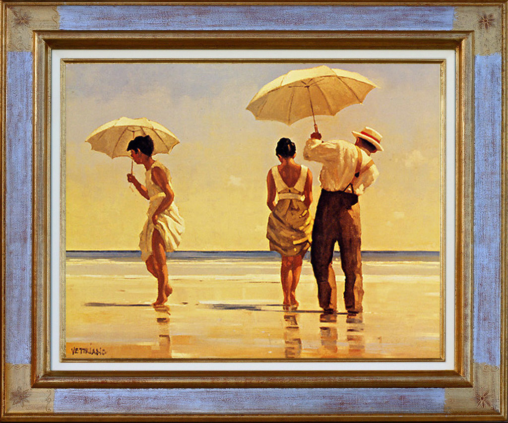 Vettriano, mad dogs