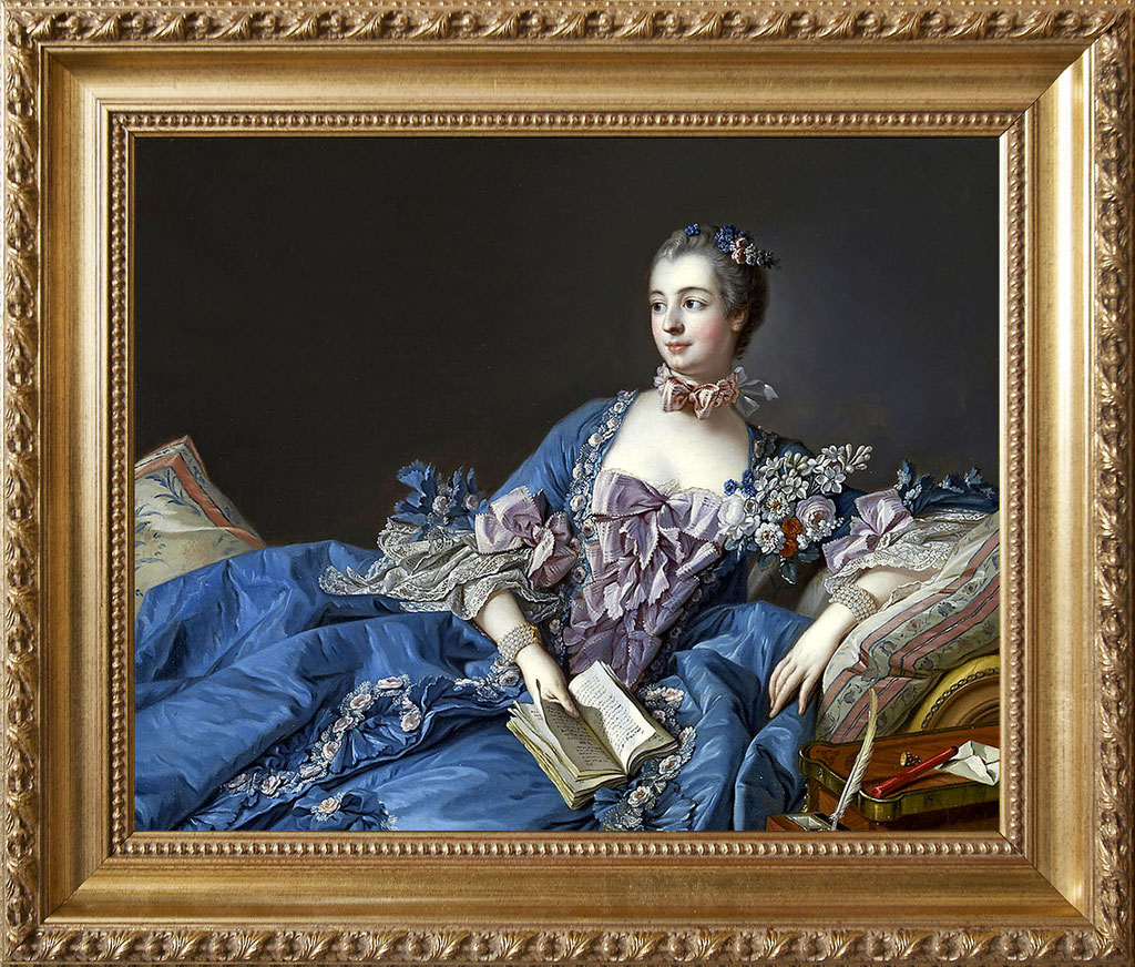 Boucher, Madame de Pompadour