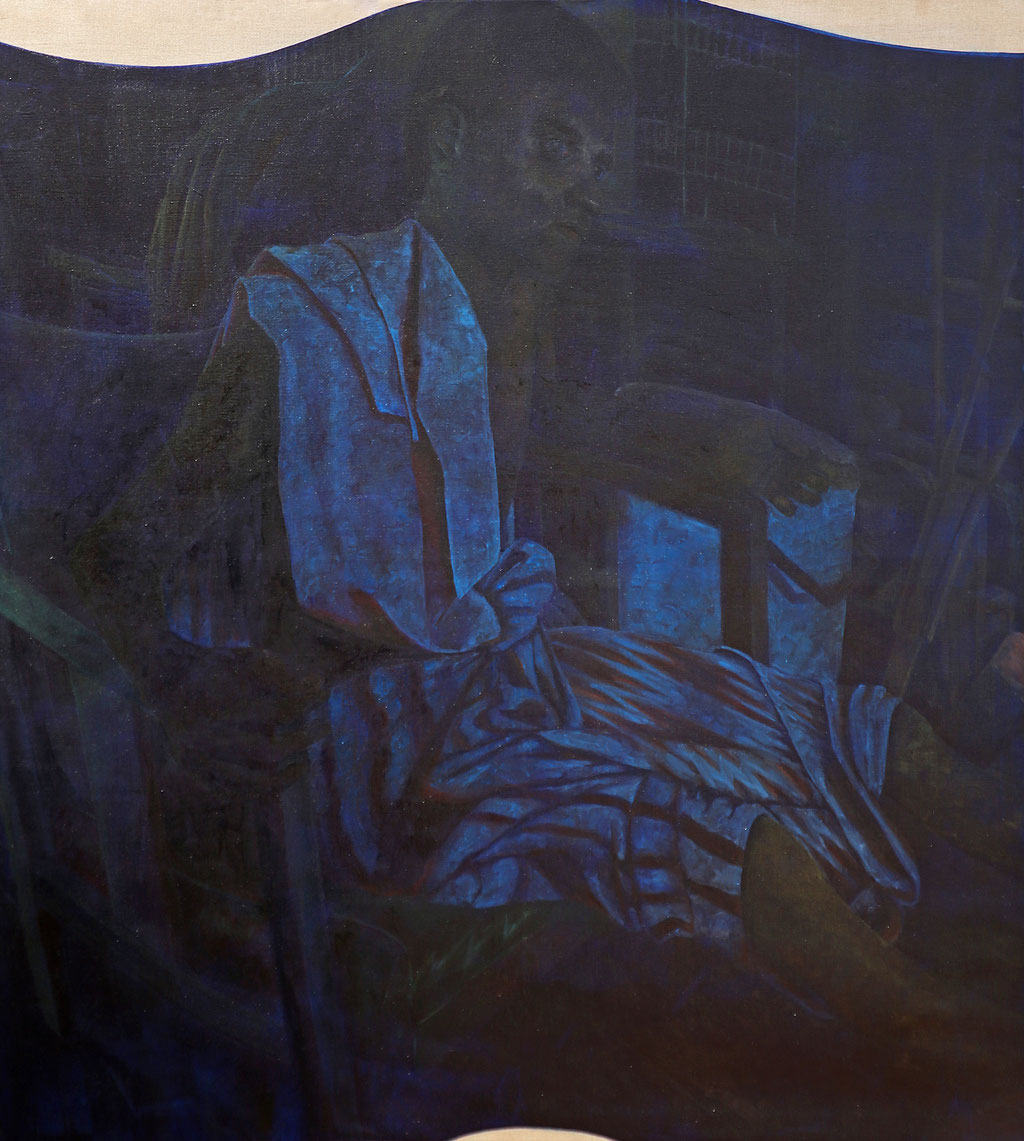 Öl auf Leinwand, 155 x 140 cm, 2015