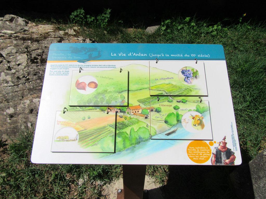 panneaux pédagogiques, ludique, pivotant, patrimoine,  biodiversité, paysage, traditions, illustrations
