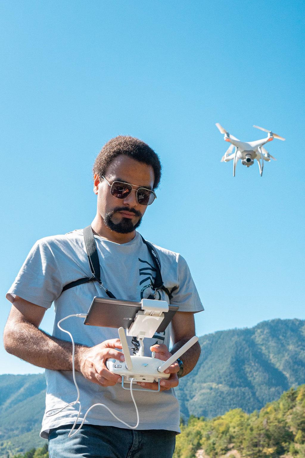 Avec le drone - Vésubie